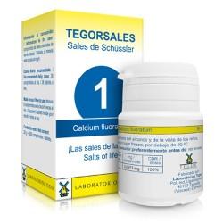 SALES DE SCHÜSSLER Nº 1 Calcium Fluoratum tegorsales